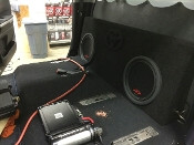 2014-UP Toyota Tundra Crewmax Subwoofer Enclosure