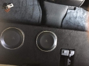 "07-2013 Toyota Tundra Doublecab Ported Enclosure for (2)10"" Subs"