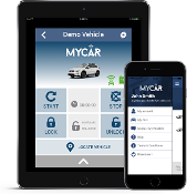MyCAR by Crimestopper add on remote start phone app